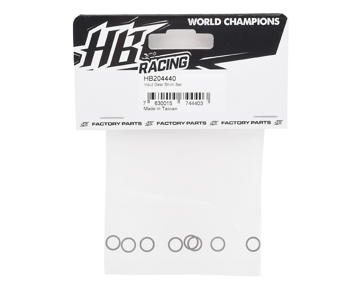 HB Racing D819 Input Gear Shim Set (8)