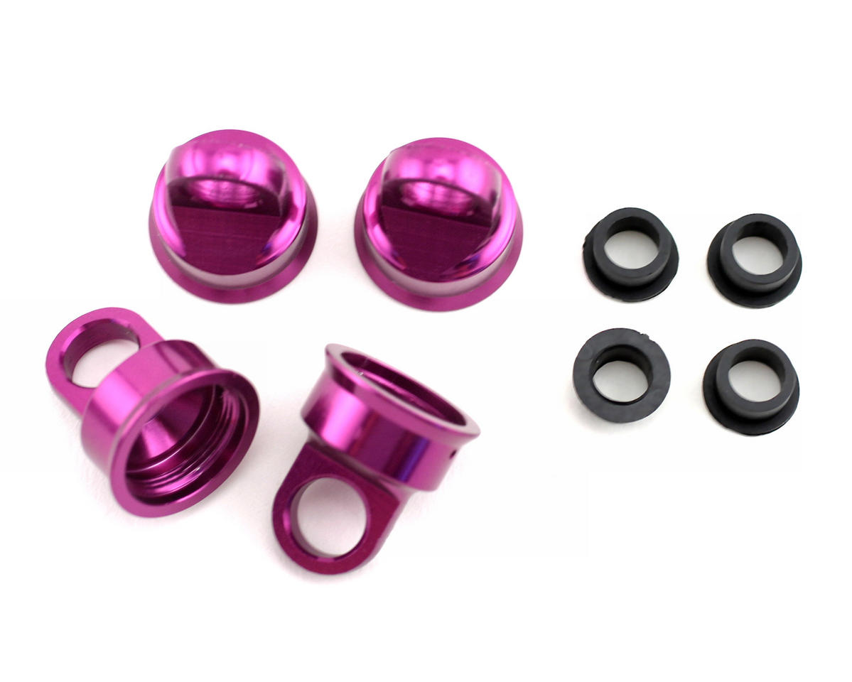 HB Racing Pro Shock Caps (4)