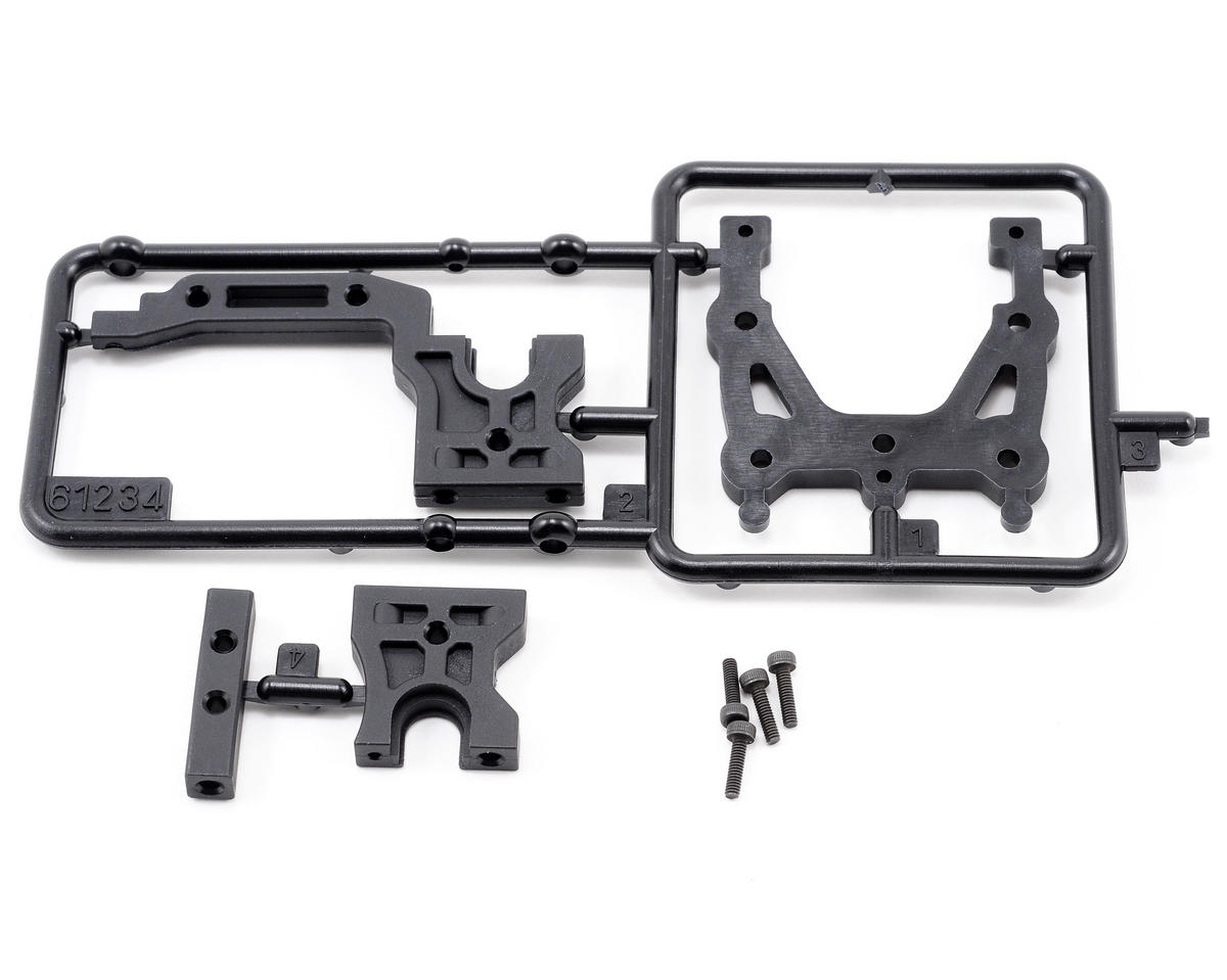 HB Racing Middle Block Parts