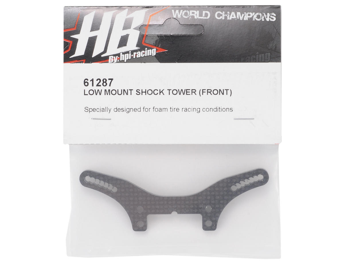 HB Racing Low Mount Shock Tower (Front)