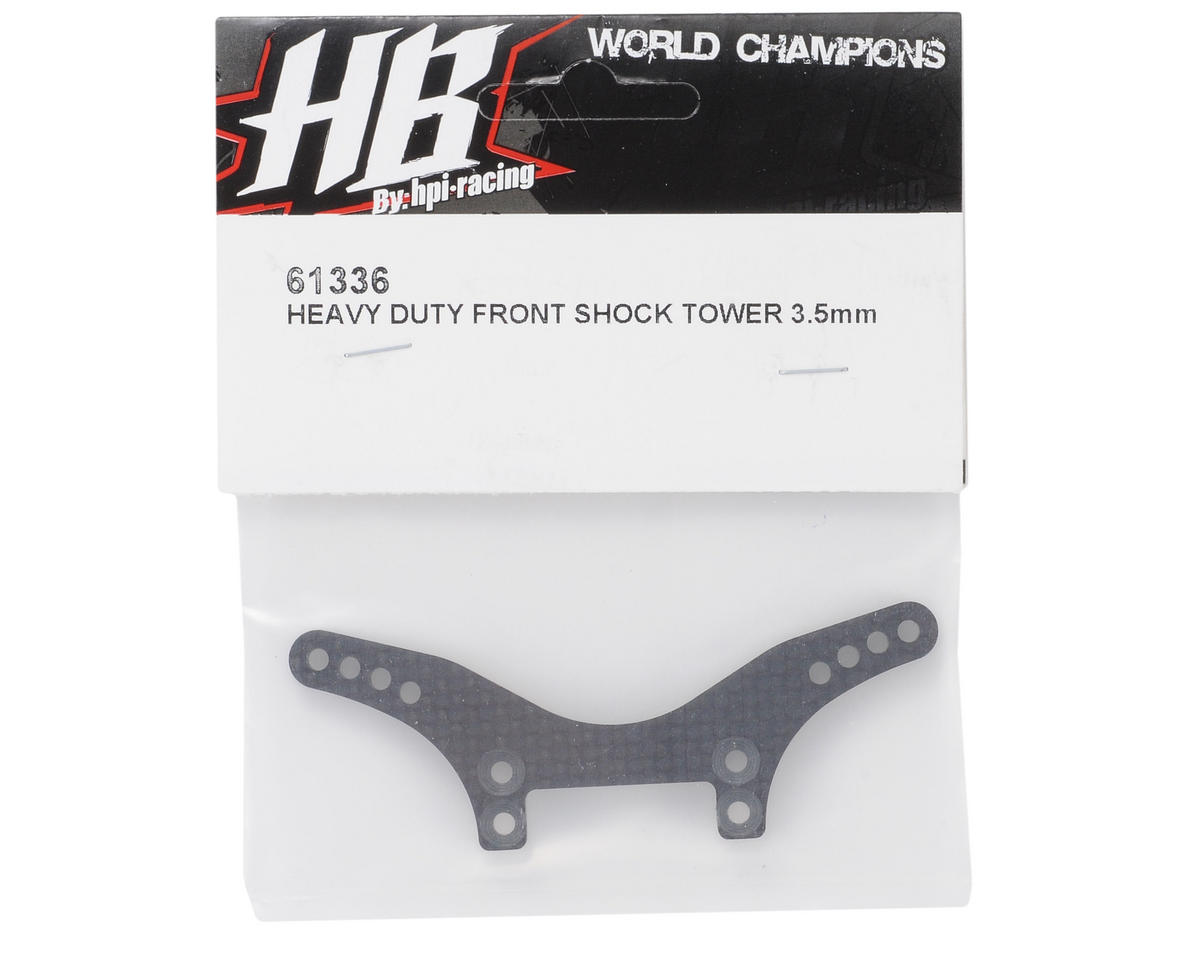 HB Racing 3.5mm Heavy Duty Front Shock Tower
