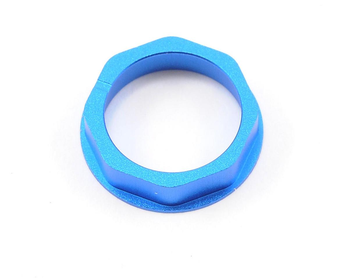 HB Racing Aluminum Bearing Holder (Blue)