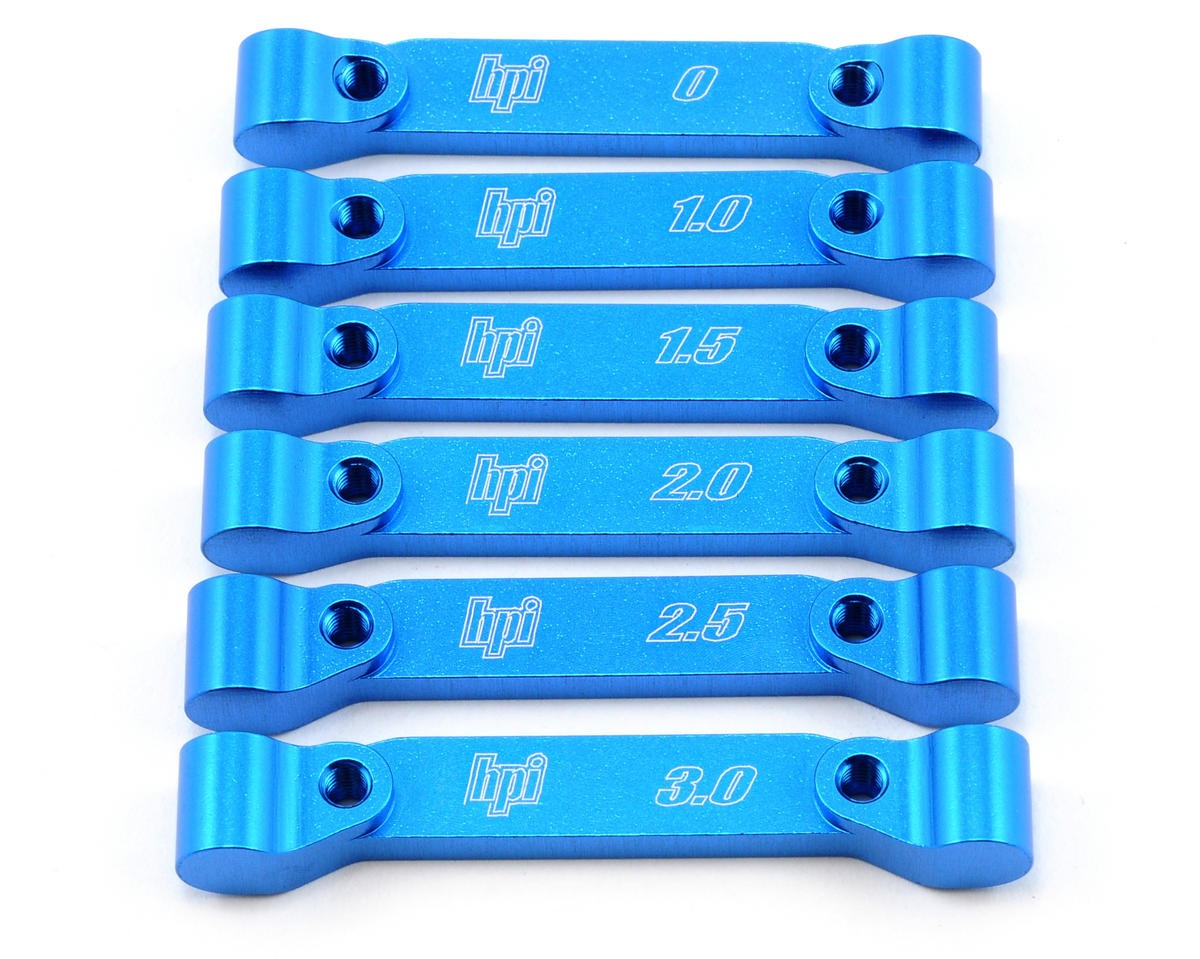 HB Racing Pivot Block Set (Blue) (6)