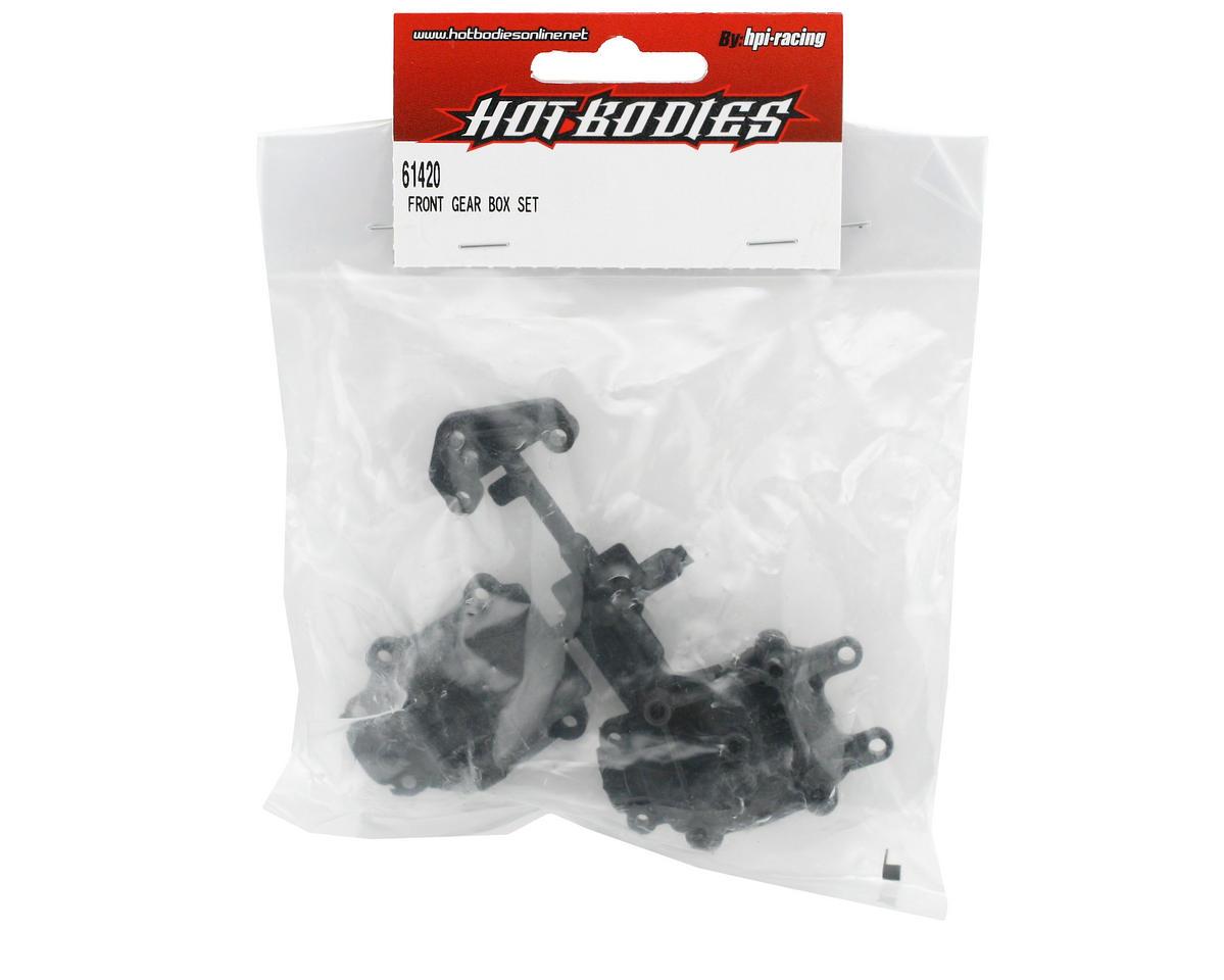 HB Racing Front Gear Box Set (Cyclone D4)