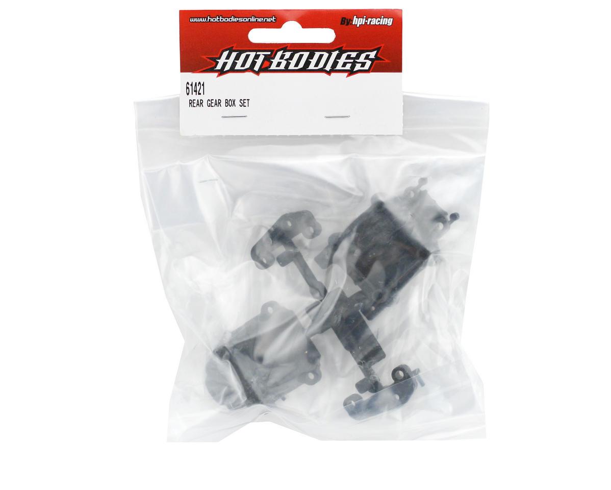 HB Racing Rear Gear Box Set (Cyclone D4)