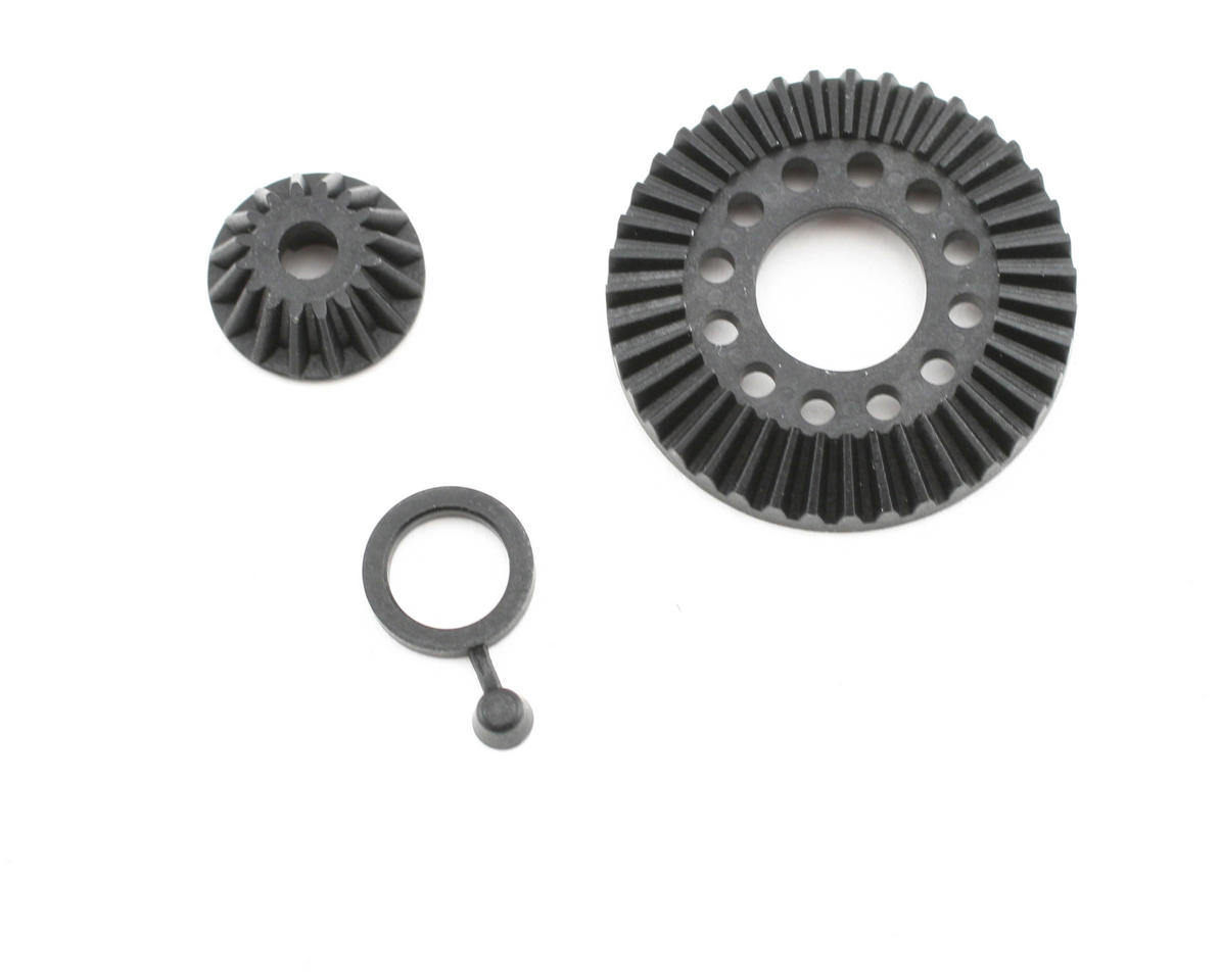 HB Racing Bevel Gear Set 39T/16T (Cyclone D4)