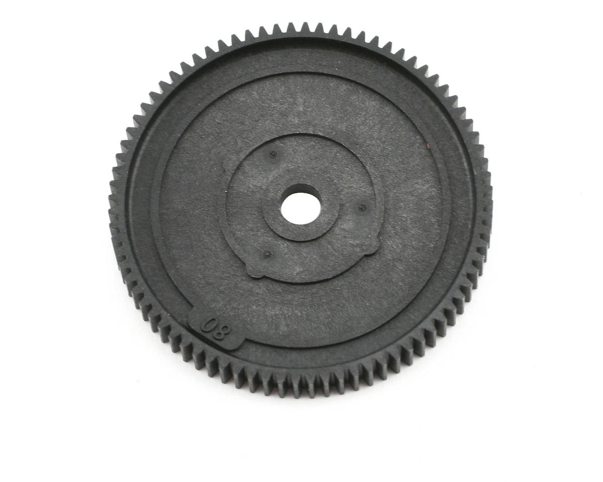 HB Racing 80T/48P Spur Gear (Cyclone D4)