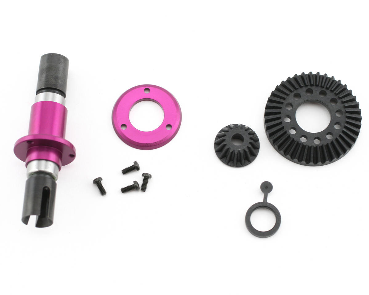 HB Racing Front One-Way Diff 39T (Cyclone D4)