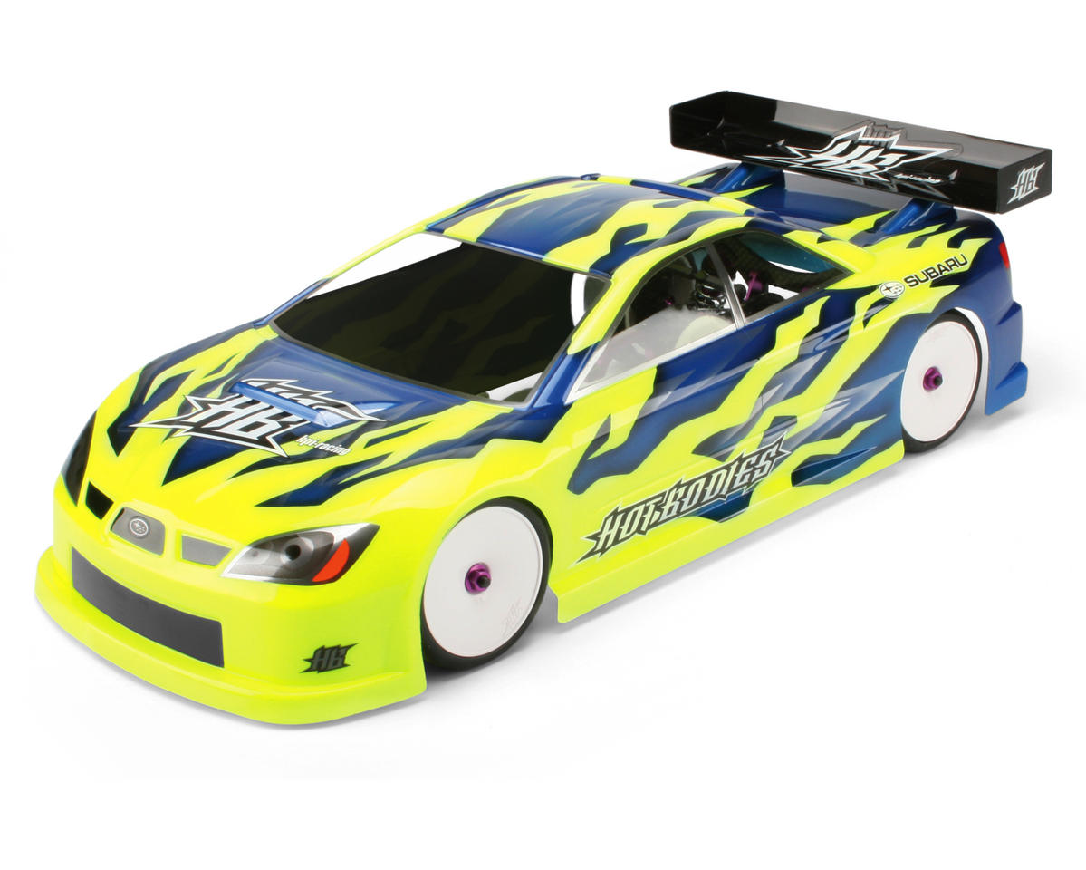 HB Racing Subaru Impreza Type B Body (Clear) (190mm) (Hot Bodies Cyclone TC)