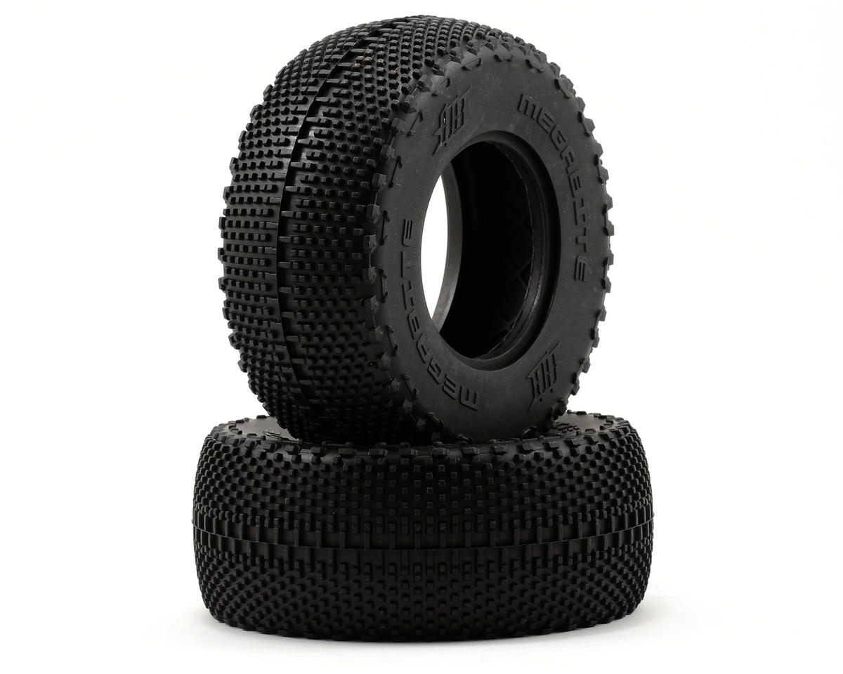 Megabite Short Course Tire (2) (No Foam) by HB Racing