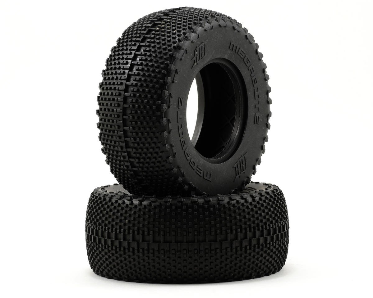 HB Racing Megabite Short Course Tire (2) (No Foam) (HPI Blitz)