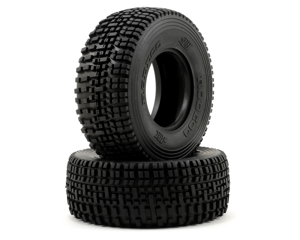 HB Racing Rodeoo Short Course Tire (2) (No Foam) (Pink)