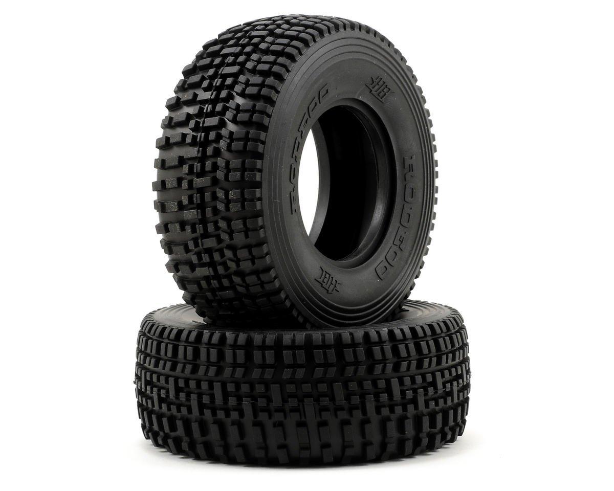HB Racing Rodeoo Short Course Tire (2) (No Foam) (Pink)