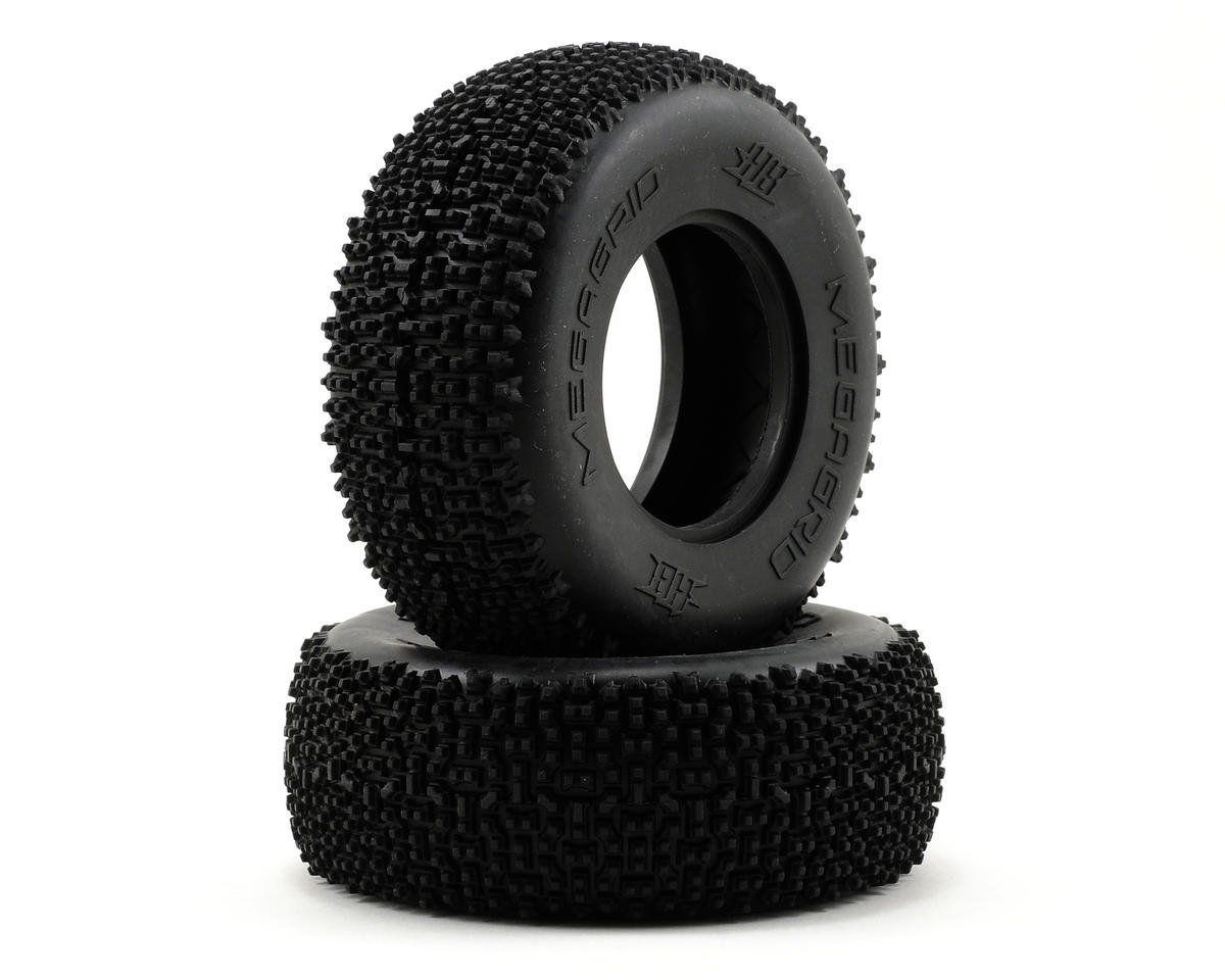 HB Racing Megagrid Short Course Tire (2) (No Foam)