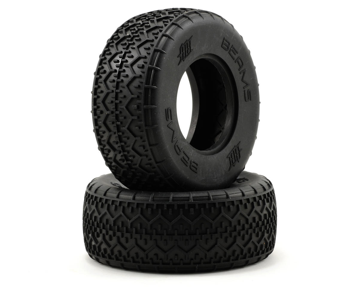 HB Racing Beams Short Course Tire (2) (No Foam)