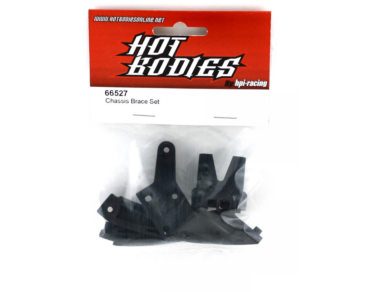 HB Racing Chassis Brace Set