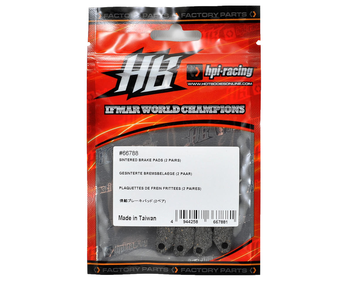 HB Racing Sintered Brake Pads (4)