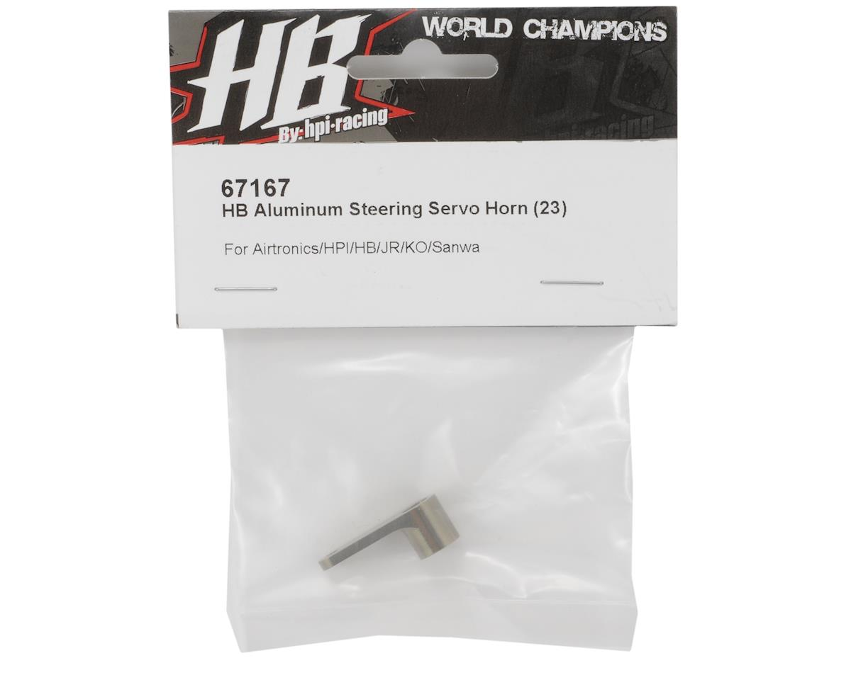 HB Racing Aluminum Steering Servo Horn (23 - JR Spline)