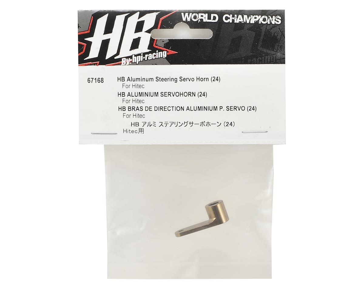 HB Racing Aluminum Steering Servo Horn (24 - Hitec Spline)