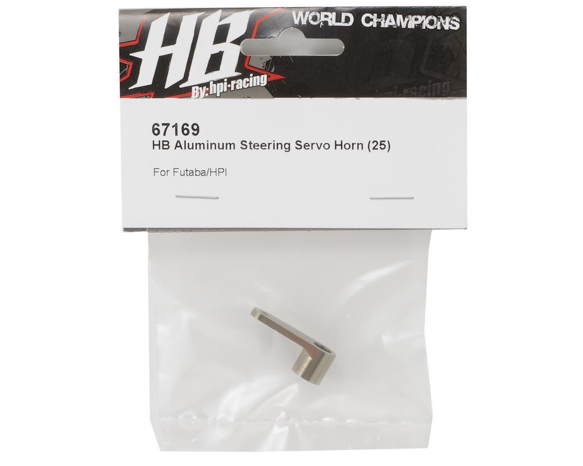 HB Racing Aluminum Steering Servo Horn (25 - Futaba Spline)