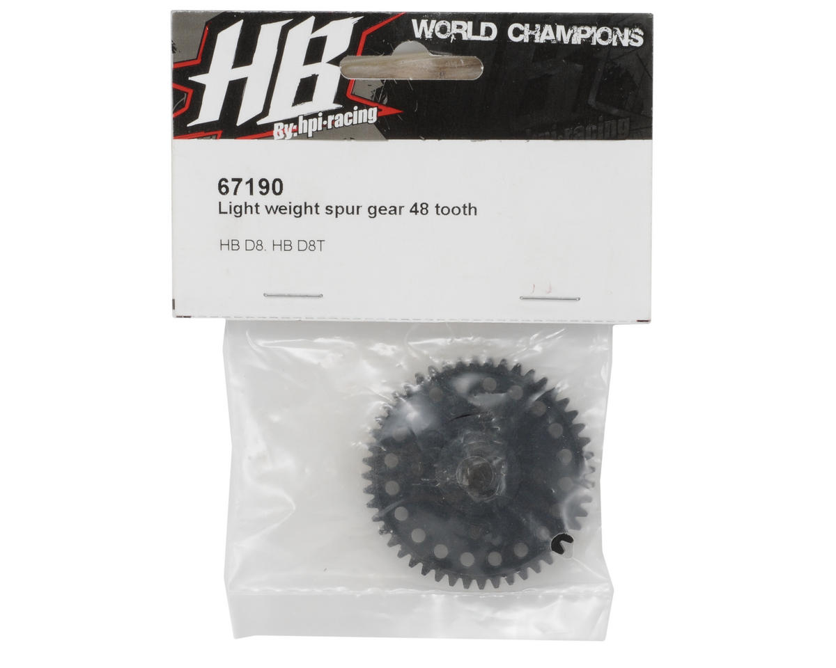 HB Racing Light Weight 48T Spur Gear