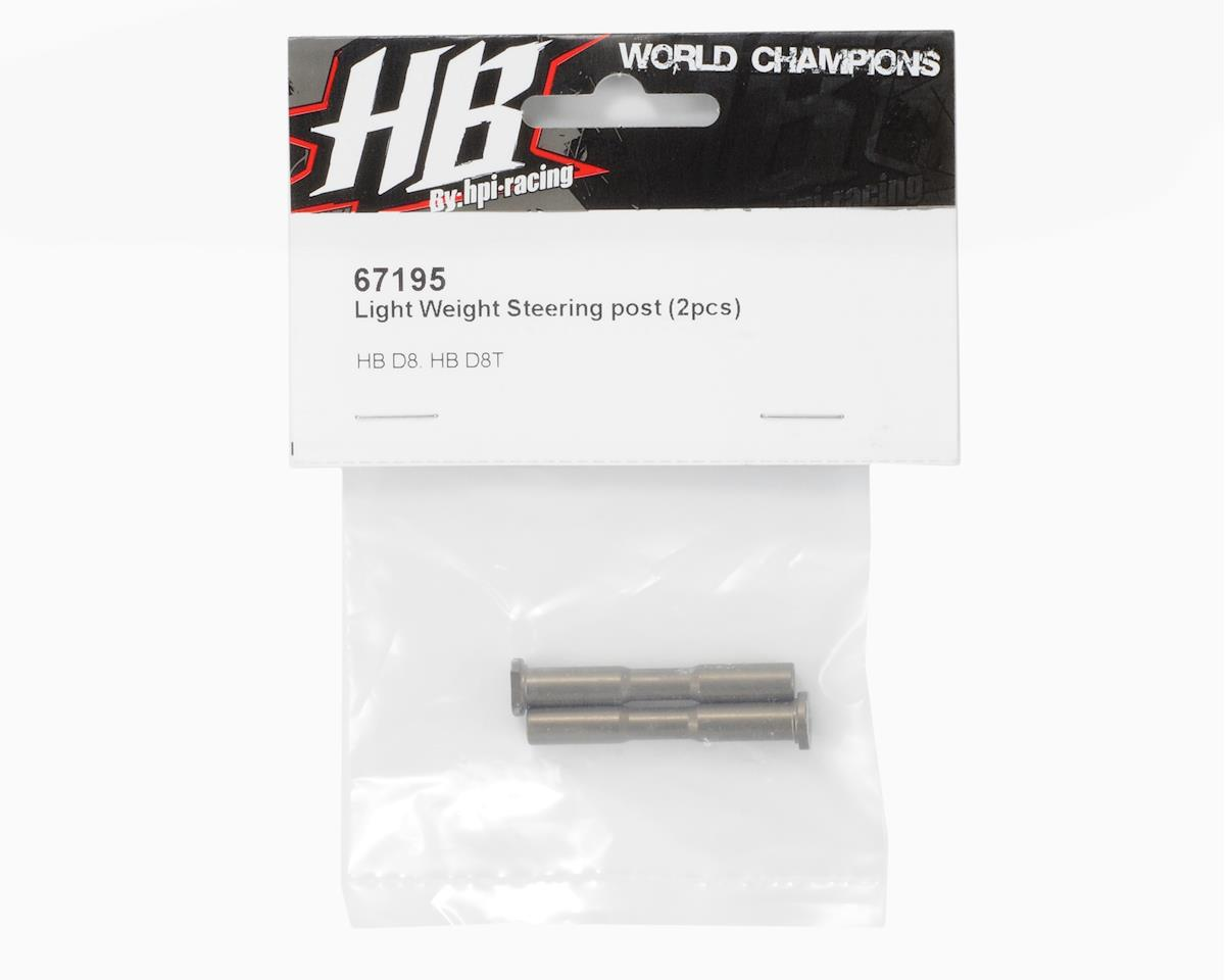 Light Weight Steering Post (2) by HB Racing