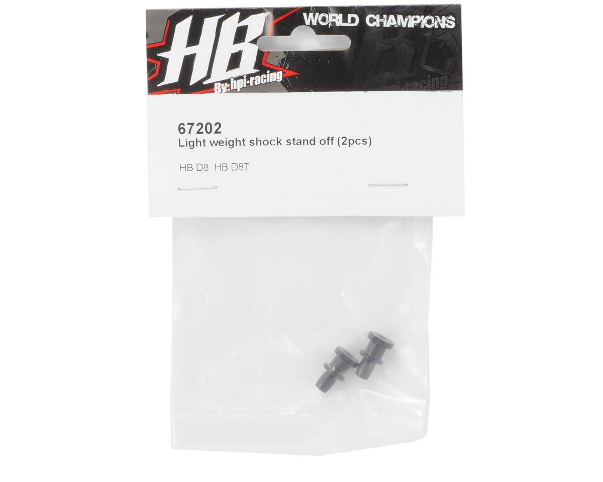 HB Racing Light Weight Shock Standoff (2)