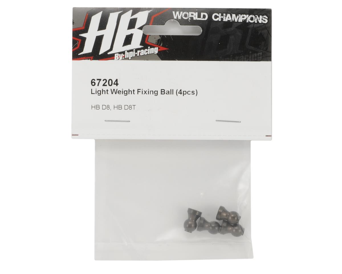 HB Racing Light Weight Aluminum Fixing Ball (4)