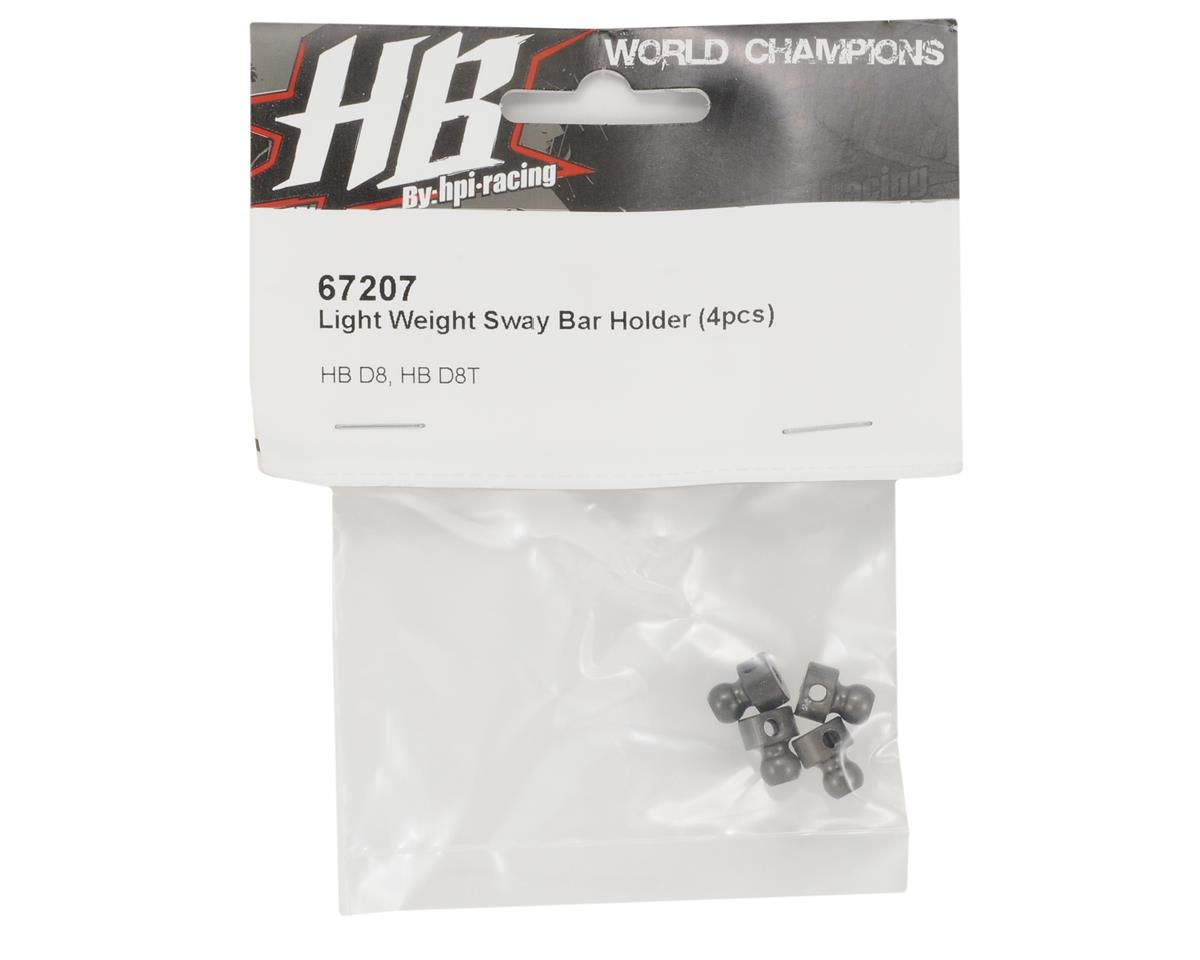 HB Racing Light Weight Aluminum Sway Bar Holder (4)