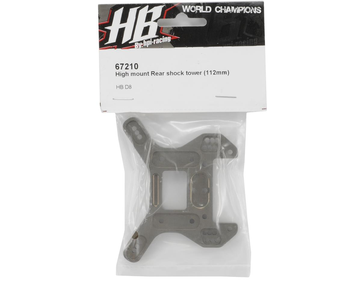 HB Racing 112mm High Mount Rear Shock Tower