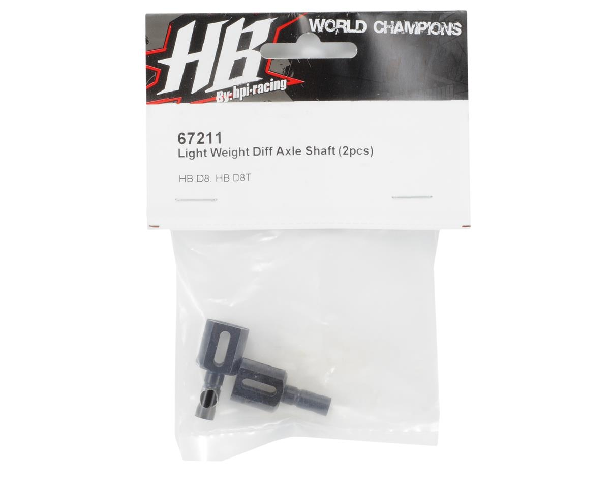 HB Racing Light Weight Center Differential Outdrives (2)