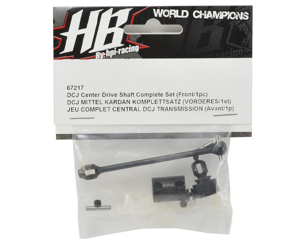 HB Racing Center/Front DCJ Driveshaft Set (1)