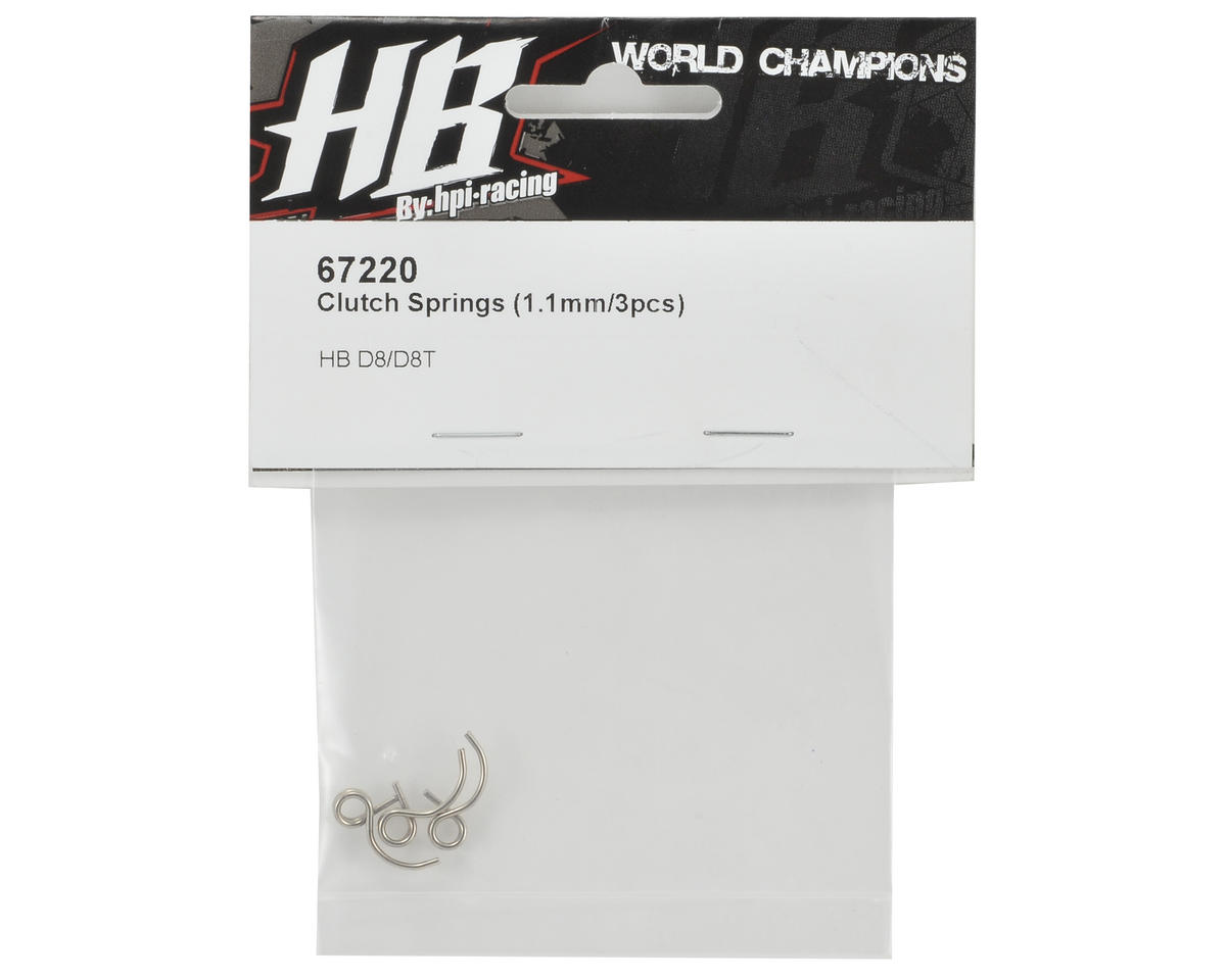 HB Racing 1.1 Clutch Spring Set (3)