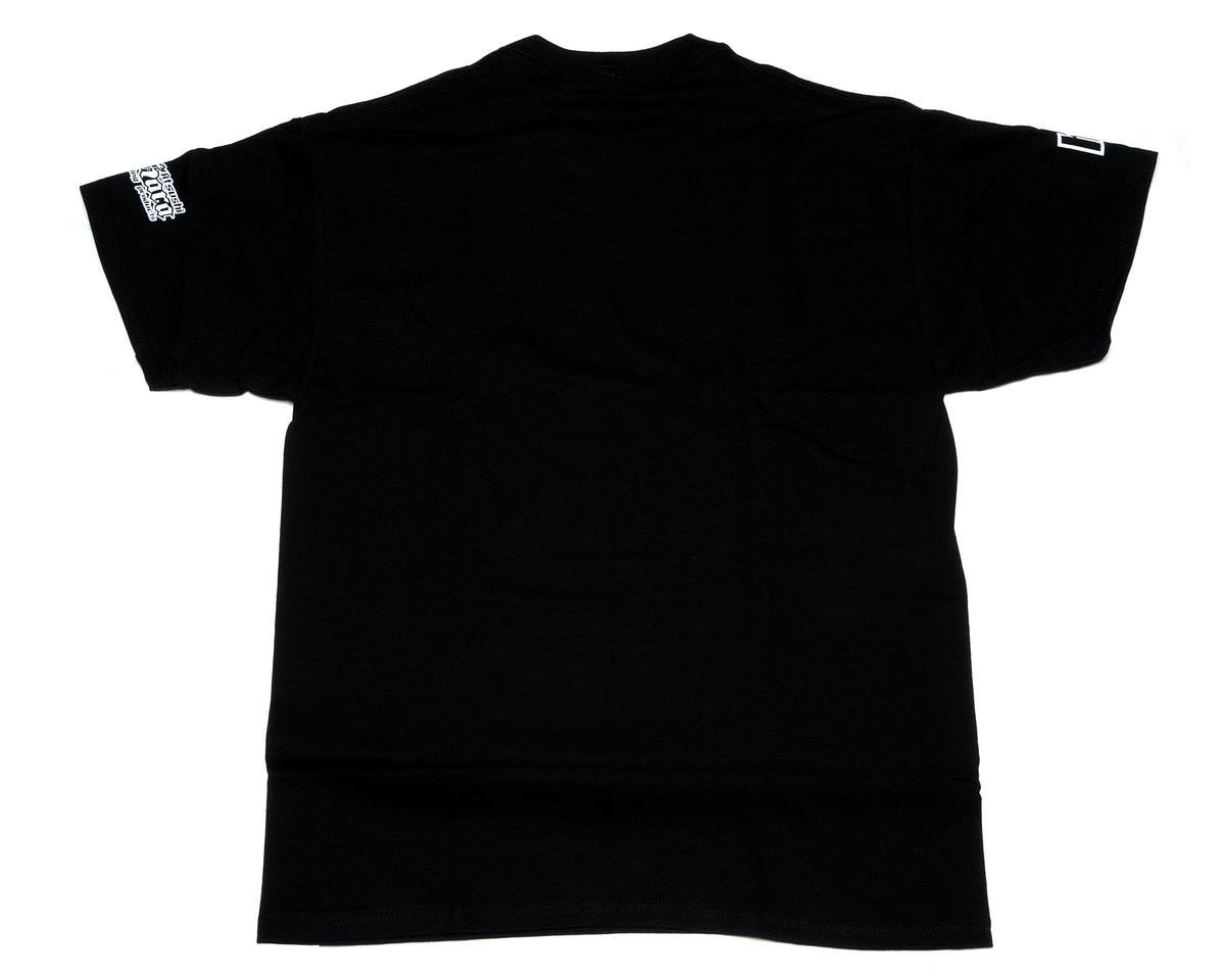 """HB Racing Black """"HB Spray"""" T-Shirt (Large)"""