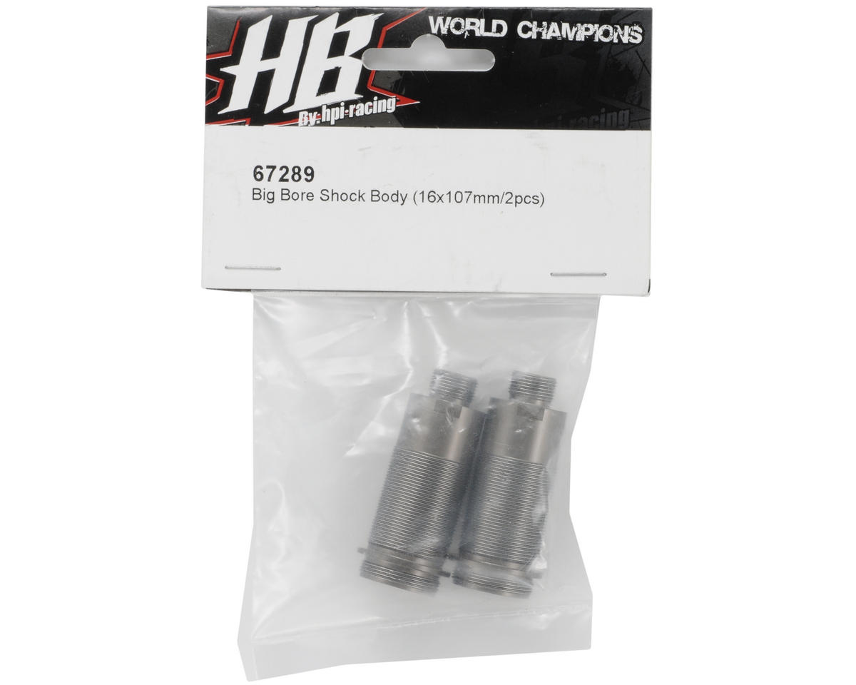 16x107mm Big Bore Shock Body (2) by HB Racing