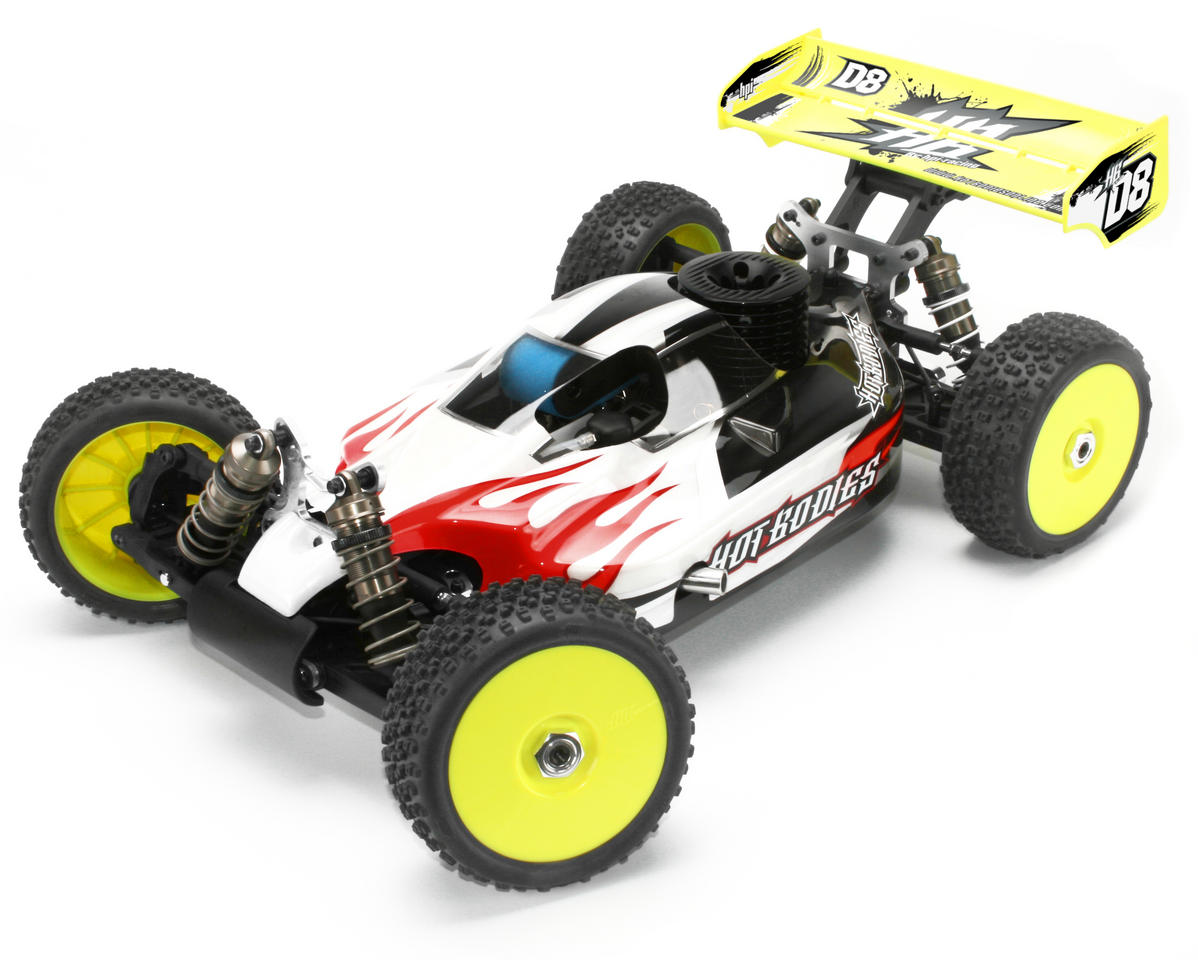 Image 1 for HB Racing D8 1/8 Off Road Competition Buggy Kit