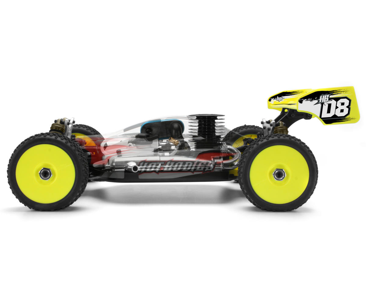 Image 4 for HB Racing D8 1/8 Off Road Competition Buggy Kit