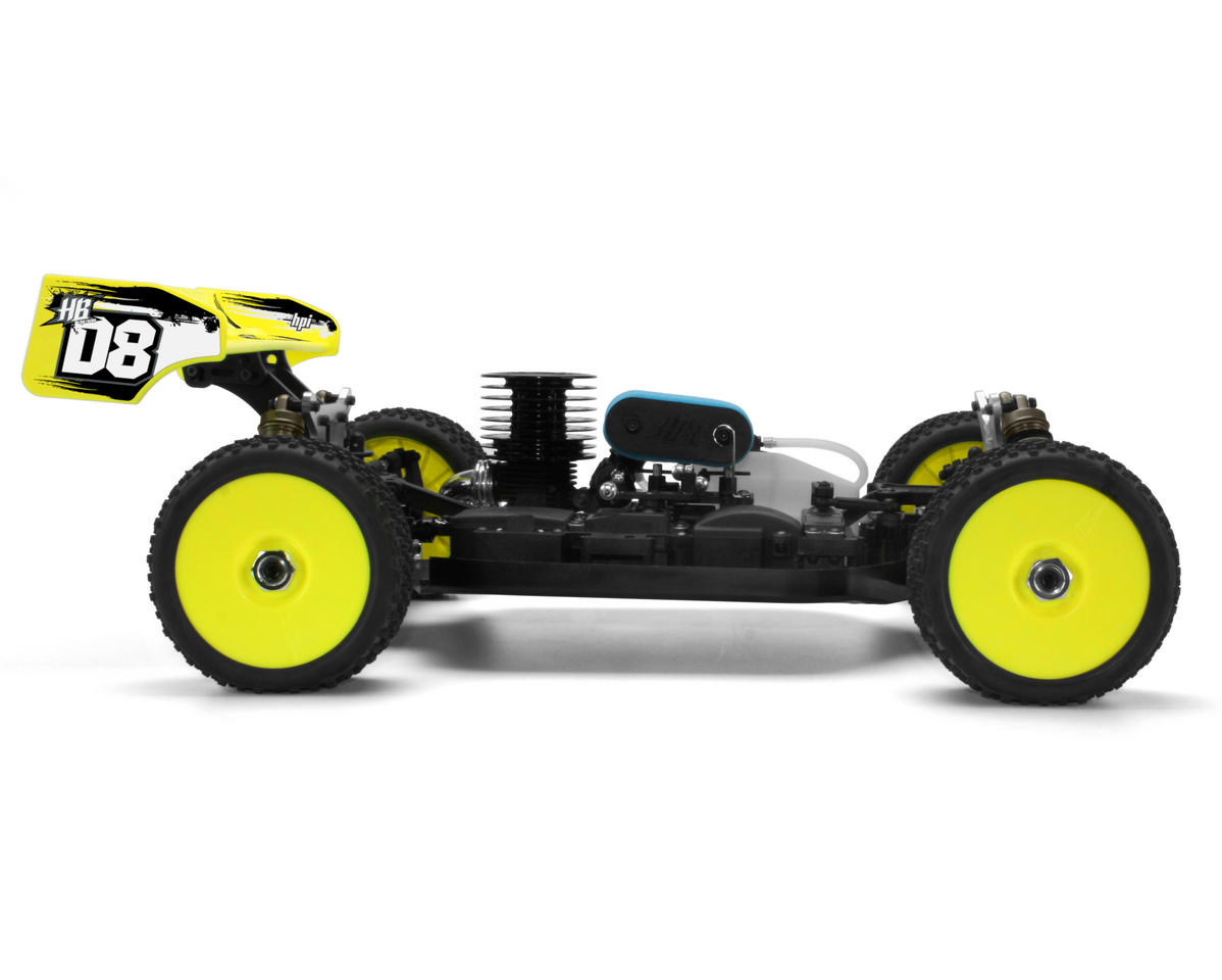 Image 5 for HB Racing D8 1/8 Off Road Competition Buggy Kit