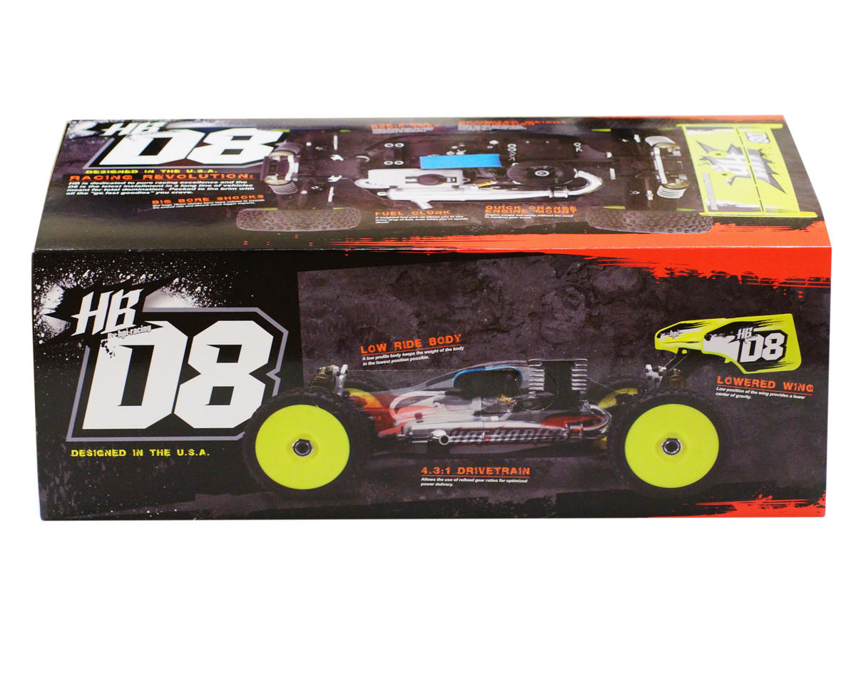 Image 6 for HB Racing D8 1/8 Off Road Competition Buggy Kit