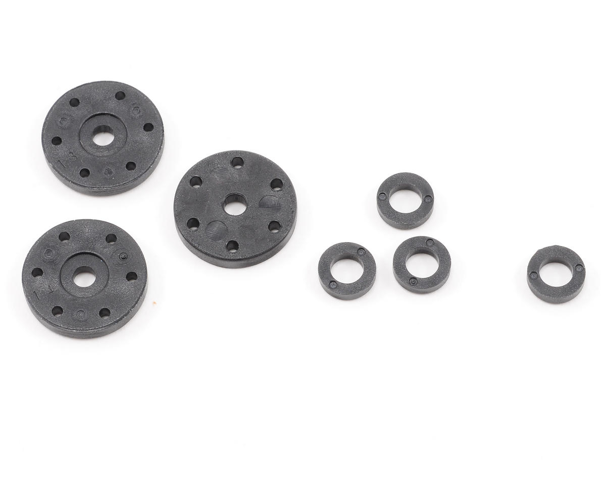6 Hole Shock Piston Set (3) by HB Racing