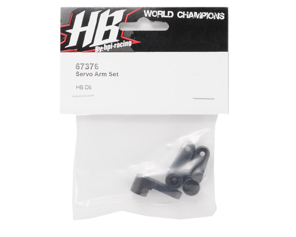 HB Racing Steering Servo Horn Set (3)