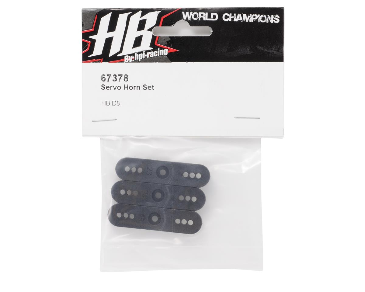 HB Racing Throttle Servo Horn Set (3)