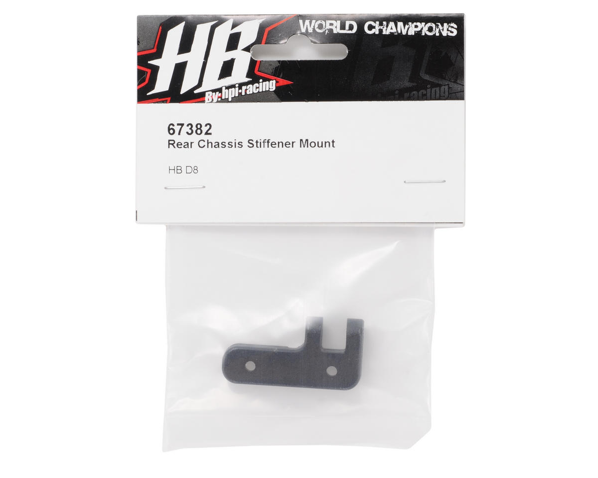HB Racing Rear Chassis Brace Mount
