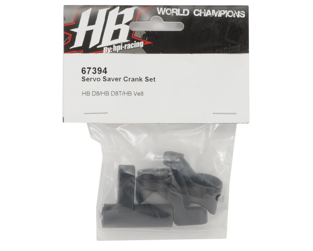 HB Racing Servo Saver Crank Set