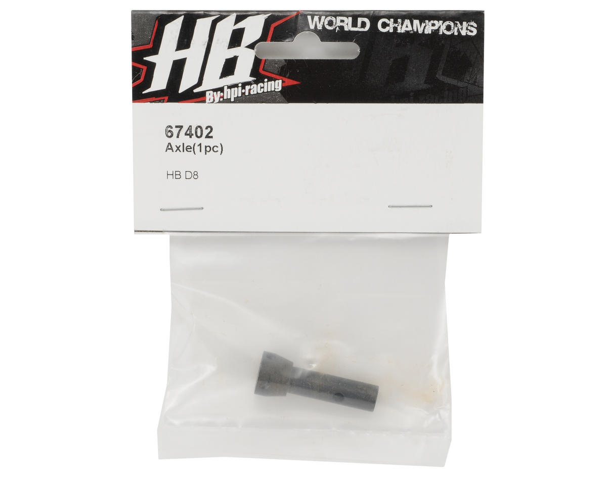 HB Racing Axle (1)