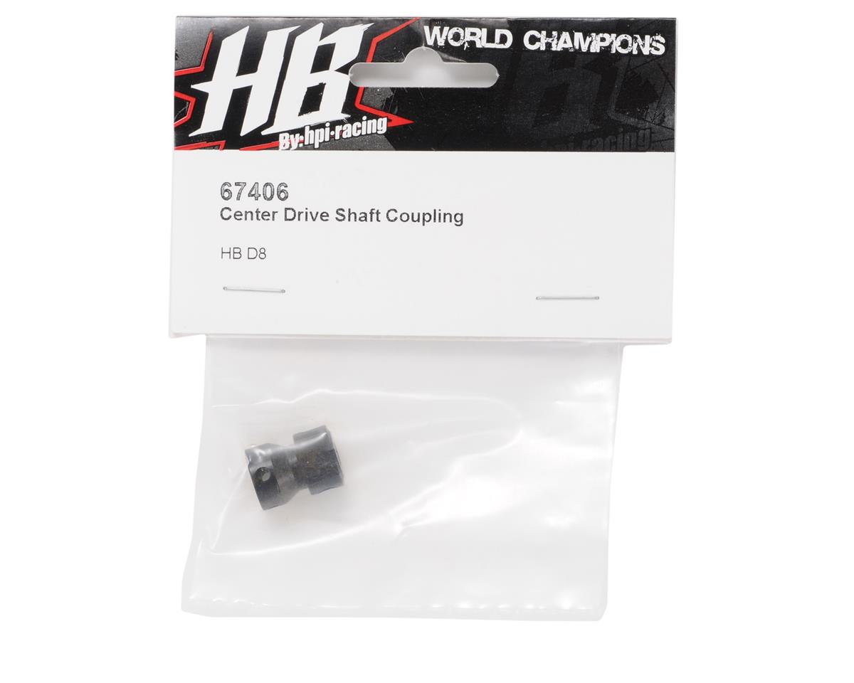 HB Racing Center Driveshaft Coupler