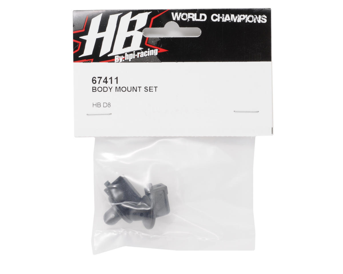 HB Racing Body Mount Set (2)