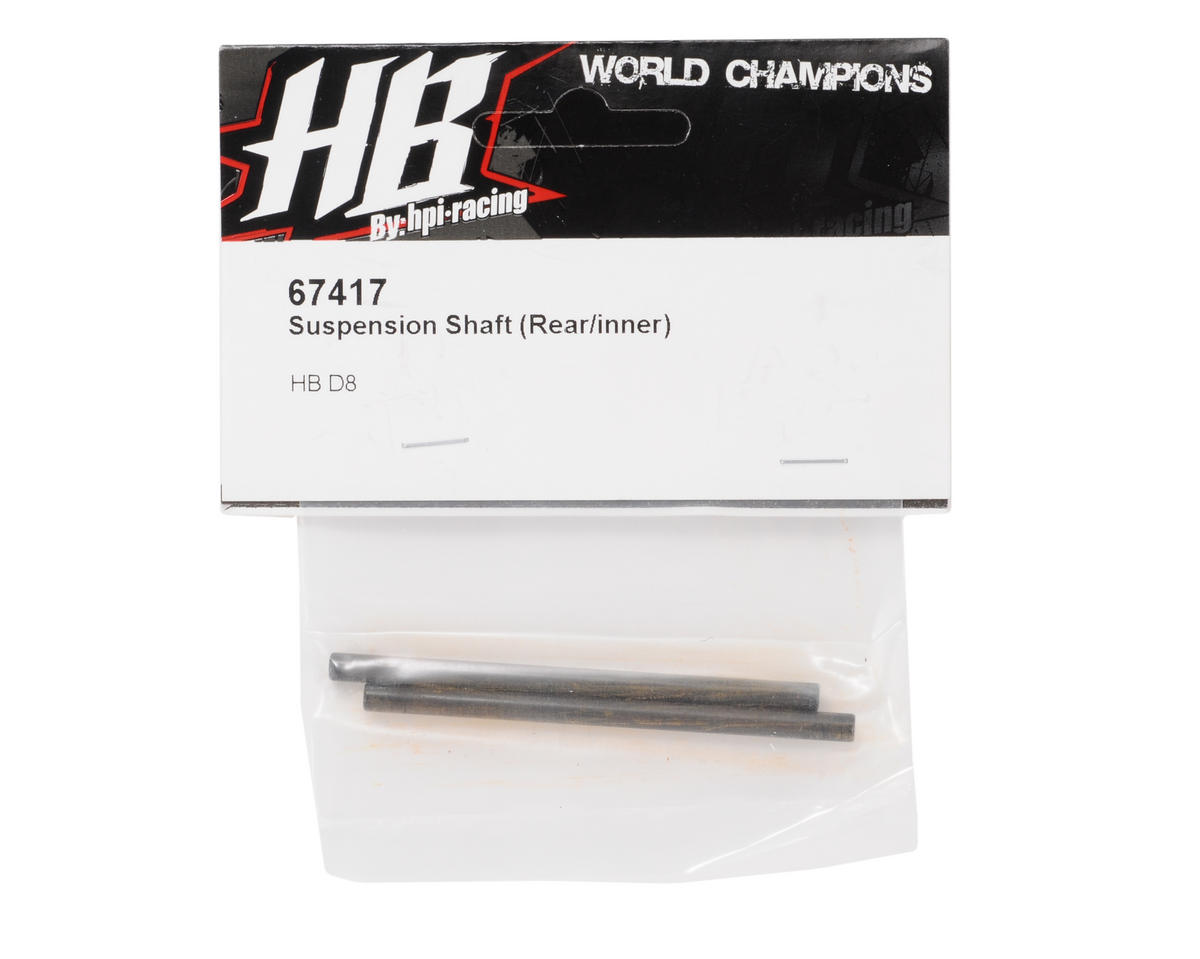 HB Racing 4x68mm Rear Inner Hinge Pin (2)