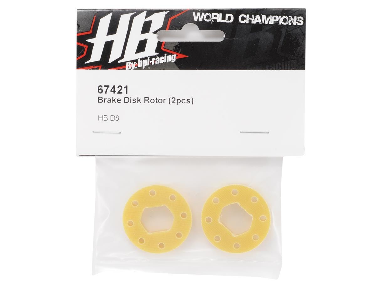 HB Racing Brake Disk Rotor (2)