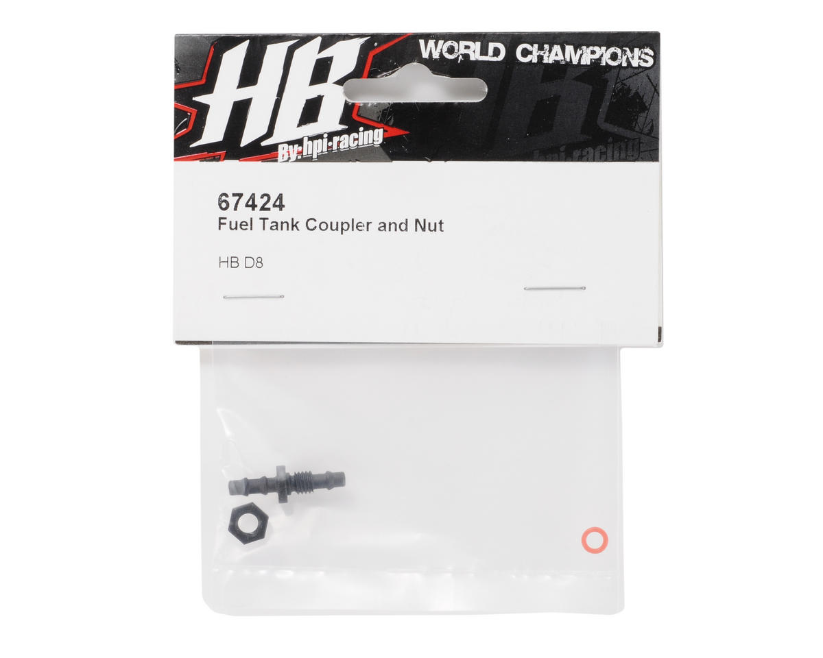 HB Racing Fuel Tank Coupler w/Nut